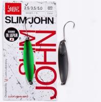 Блесна Колеб. Lucky John Slim John Длин.37Мм/02.5Г 022