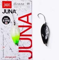 Блесна колеблющаяся Lucky John Juna длина 30мм/2,5г 025