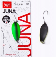 Блесна колеблющаяся Lucky John Juna длина 33мм/3,5г 022