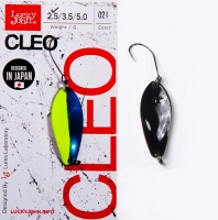 Блесна колеблющаяся Lucky John Cleo длина 31мм/2,5 г 021