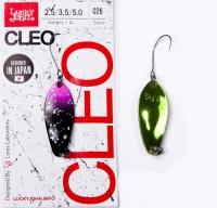 Блесна колеблющаяся Lucky John Cleo длина 31мм/2,5 г 026