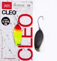 Блесна колеблющаяся Lucky John Cleo длина 31мм/2,5 г 028