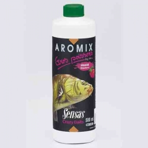 фото - Ароматизатор Sensas Aromix Strawberry 0,5Л