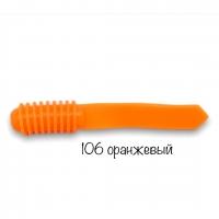 Слаги съедобные Soorex Spear 75мм оранжевые
