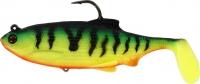 Виброхвосты WESTIN Ricky the Roach Shadtail R N R 7cm 9g Sinking Firetiger 2шт