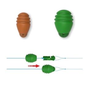 фото - Стопор-застежка для поводка STONFO Connector beads №1 8шт