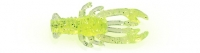 Приманка OJAS Rachek, 22мм, цвет Chartreuse (прозрачный), Рак-рыба