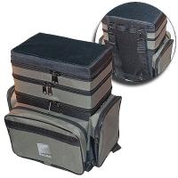 Ящик-Сумка-Рюкзак Рыболовный Пенопластовый 3-Х Ярус. B-3