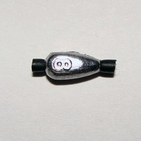 Грузило Свинцовое Пуля С Трубочкой 0,8Г