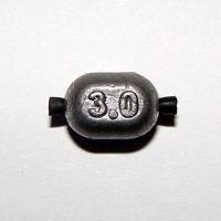 Грузило Свинцовое Овал С Трубочкой 003,0Г