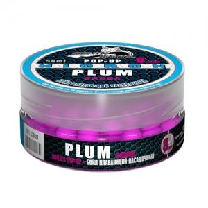 фото - Бойлы Плавающие Sonik Baits Plum Micron Fluo Pop-Ups 8Мм 50Мл