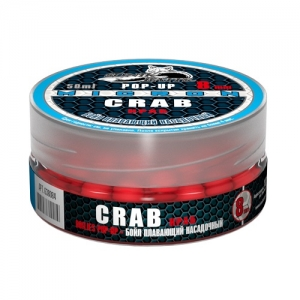 фото - Бойлы Плавающие Sonik Baits Crab Micron Fluo Pop-Ups 8Мм 50Мл