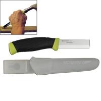 Нож Специальный В Пластиковых Ножнах Morakniv Craftline Top Q Chisel Knife