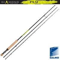 Удилище Нахлыстовое Salmo Diamond Fly Кл.4/5 2.56