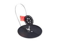 Жерлица, диаметр 18см, на алюминиевой стойке, катушка 7.5см