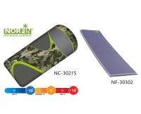 Комплект Norfin: спальный мешок-одеяло SCANDIC COMFORT PLUS и самонадувающийся коврик ATLANTIC