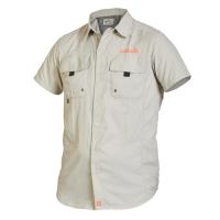 Рубашка Norfin Focus Short Sleeves Gray 04 Р.xl