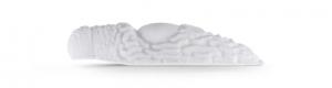 фото - Приманка OJAS Slizi, 33мм, цвет белый (флюо), чеснок
