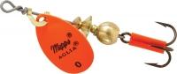 Блесна Вращающаяся MEPPS AGLIA HOT 0 Orange