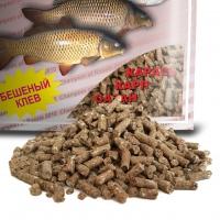 Пеллетс DUNAEV КЛАССИКА Гранулы Карп Шоколад, 0.9 кг