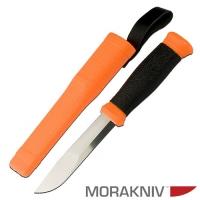 Нож Универсальный В Пластиковых Ножнах Morakniv 2000 Оранж.