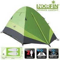 Палатка 2-Х Местная Norfin Roach 2 Nf
