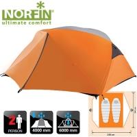 Палатка 2-Х Местная Norfin Begna 2 Ns
