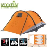 Палатка 3-Х Местная Norfin Glan 3 Ns