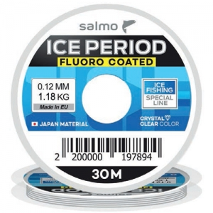фото - Леска Монофильная Зимняя Salmo Ice Period Fluoro Coated 030/008