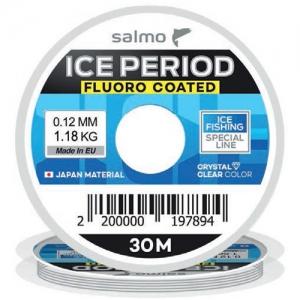 фото - Леска Монофильная Зимняя Salmo Ice Period Fluoro Coated 030/010