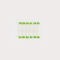 Подвес-Серьга Микро-Бис Шар Ирис Зелен. 2.3Мм Д 12Шт.