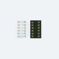 Подвес-Серьга Микро-Бис Шар Зелен. Светонакоп. 3.1Мм К 12Шт.
