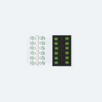 Подвес-Серьга Микро-Бис Шар Зелен. Светонакоп. 3.1Мм Д 12Шт.