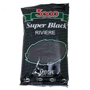 фото - Прикормка Sensas 3000 Super Black Riviere 1Кг