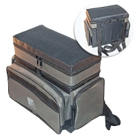 Ящик-Сумка-Рюкзак Рыболовный Пенопластовый 2-Х Ярус. H-2