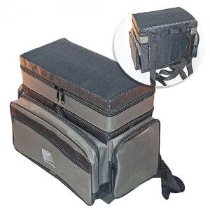фото - Ящик-Сумка-Рюкзак Рыболовный Пенопластовый 2-Х Ярус. H-2