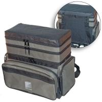 Ящик-Сумка-Рюкзак Рыболовный Пенопластовый 3-Х Ярус. H-3