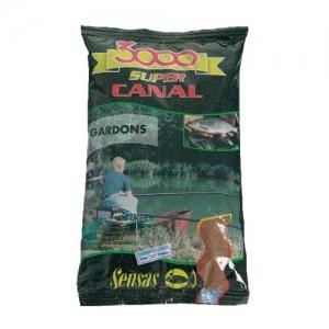 фото - Прикормка Sensas 3000 Super Canal Gardons 1Кг