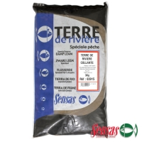 Грунт Sensas Sticky Terre De Riviere 3Кг