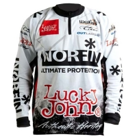 Футболка Norfin & Lucky John Белая 01 Р.s