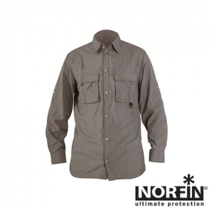 фото - Рубашка Norfin Cool Long Sleeves Gray 03 Р.l