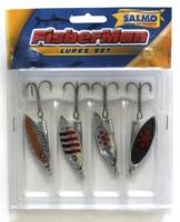 Блесны Вращающиеся Fisherman Комплект