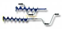 Ледобур NERO 130Мм, шнек 0,62м