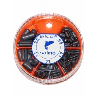 Грузила Salmo EXTRA SOFT малый 5 секц. 0,5-2,0г 060г набор 1