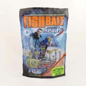 фото - Прикормка FishBait серия ICE-Sport 0,75 кг. Мотыль