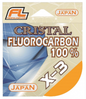 Леска Fishing Lider CRISTAL Fluorocarbon 30м. 0.164мм
