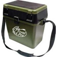Ящик рыболовный Trout Pro зимний 39*24*38см Зеленый