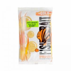 фото - Прикормка FishBait серия «GOLD» 1 кг. Карп Ваниль