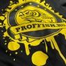 Футболка с логотипом PROFFISH, цвет чёрный, размер XXL (52-54)