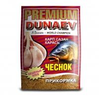 ПРИКОРМКА DUNAEV PREMIUM Карп-Сазан-Карась Чеснок 1 кг